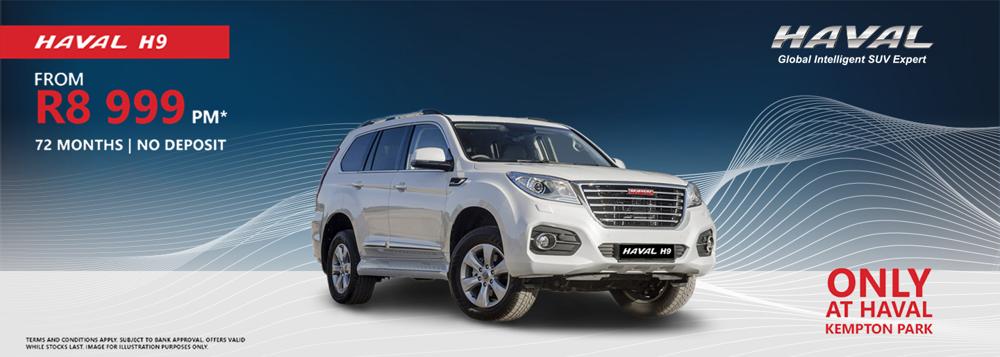 HAVAL H9 from R8 999pm banner