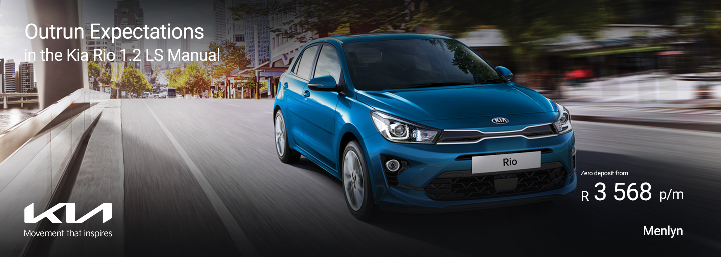 Outrun Expectations in the Kia Rio 1.2 LS Manual banner