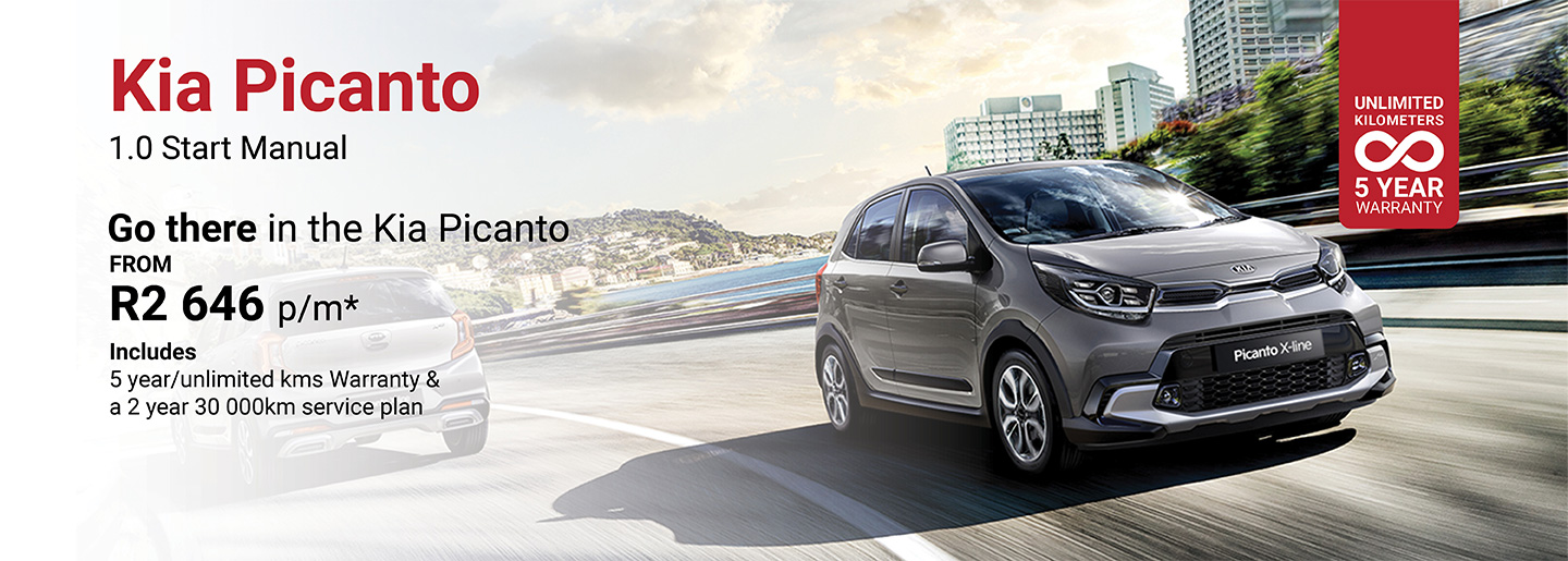 KIA Picanto 1.0 Start Manual from R2 646 p/m banner
