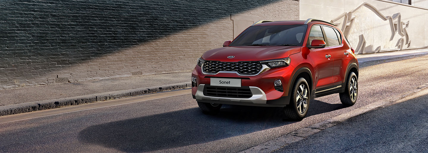Begin your SUV life with the all-new Kia Sonet video-banner