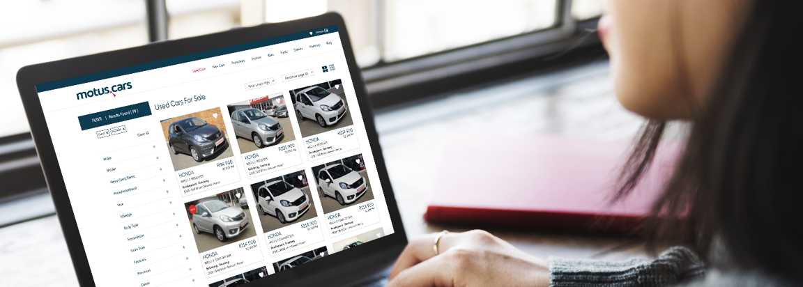 Find your next pre-owned car on motus.cars