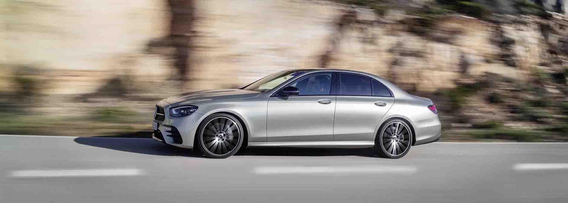 Mercedes-Benz upgrades E-Class family