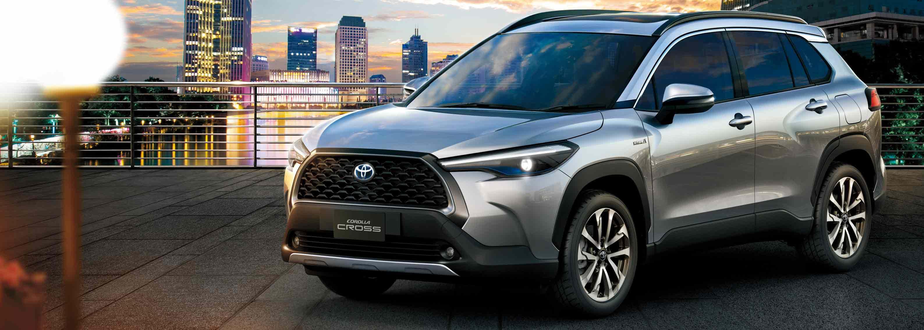 The Toyota Corolla Cross is on its way