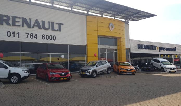 Motus Renault Roodepoort dealer image0