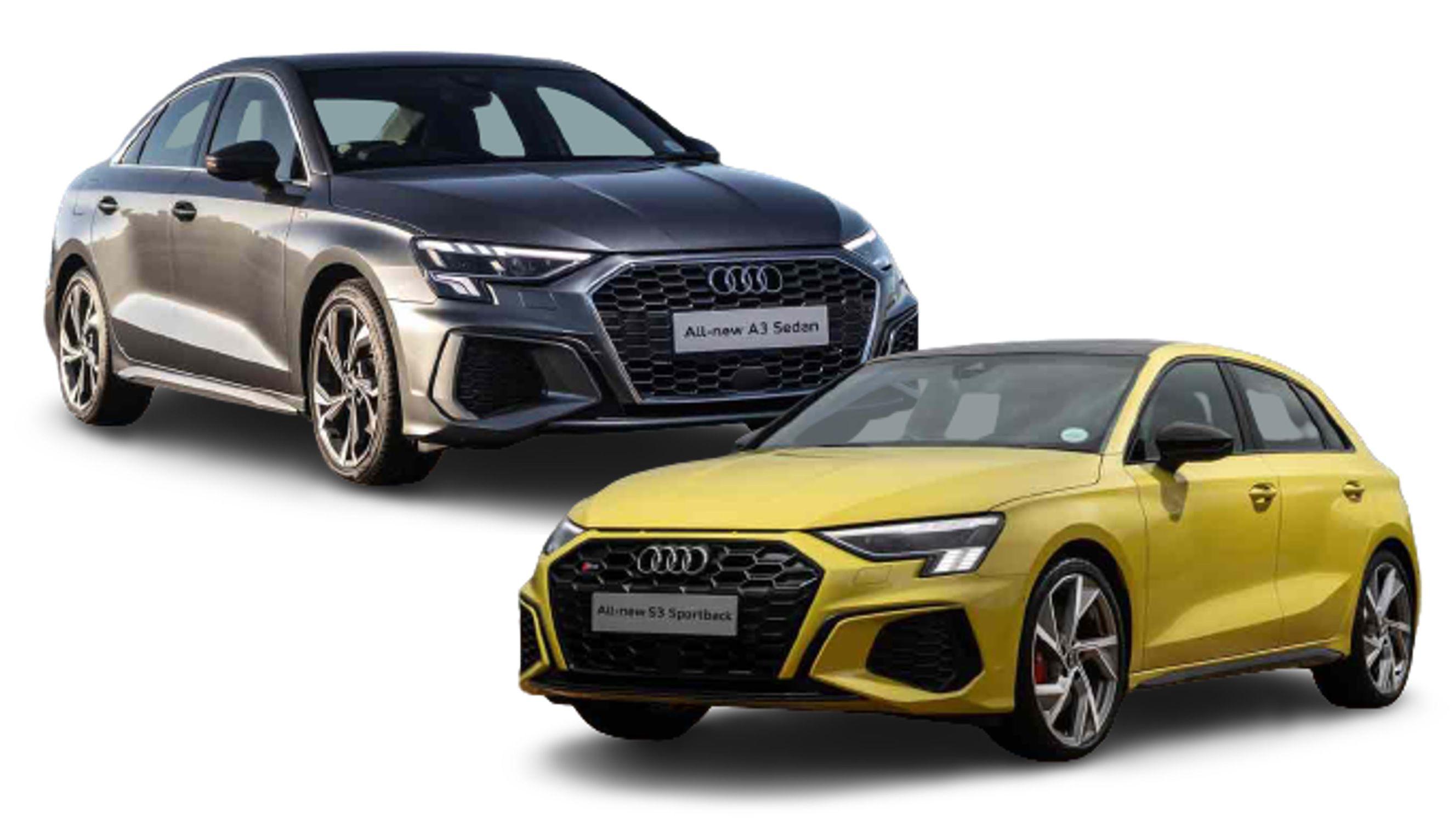 Audi A3 Sportback & sedan Pre-order  banner