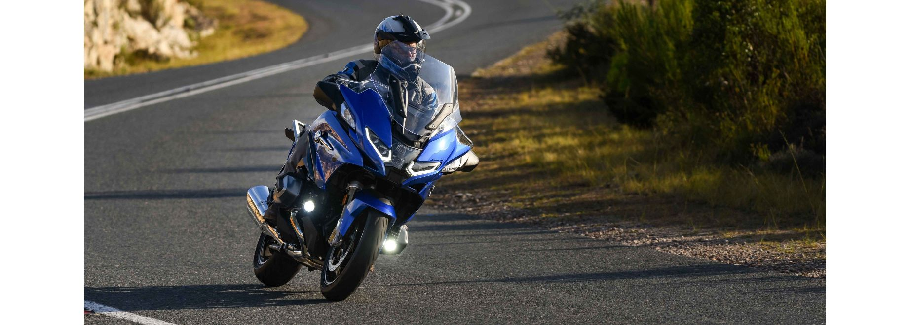 BMW's sporty touring motorcycle updated