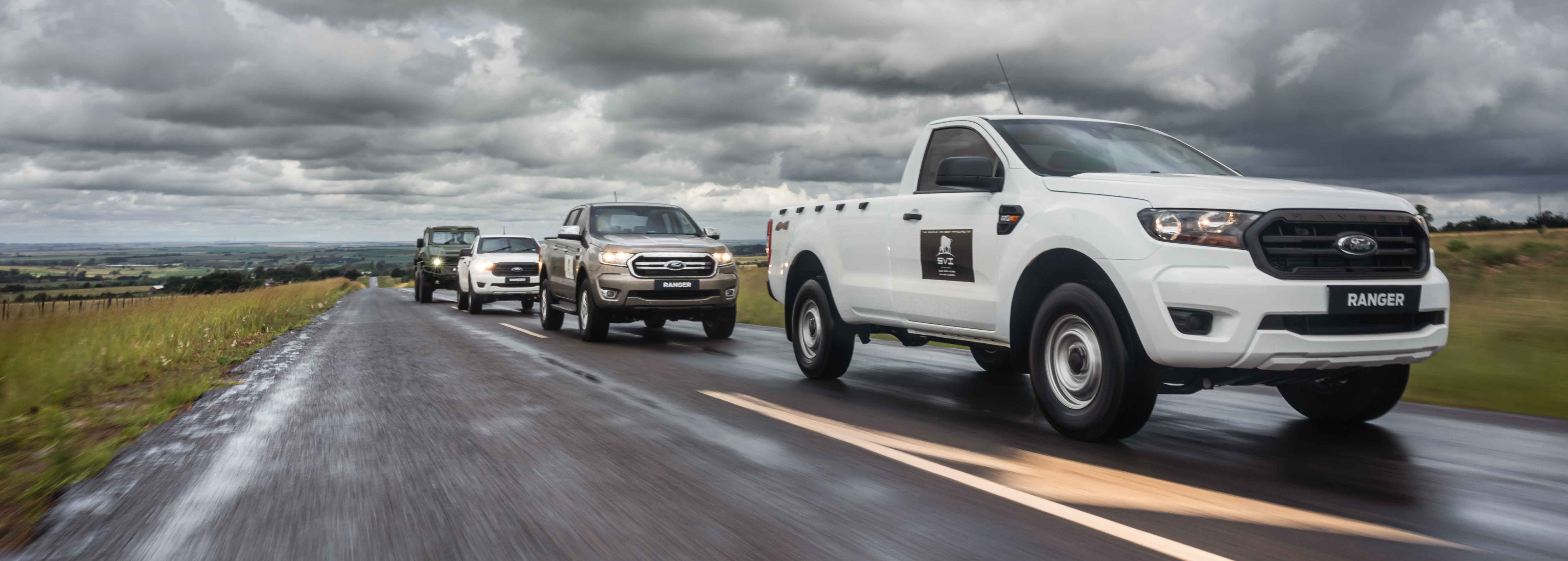 Bulletproof Ford Ranger now available