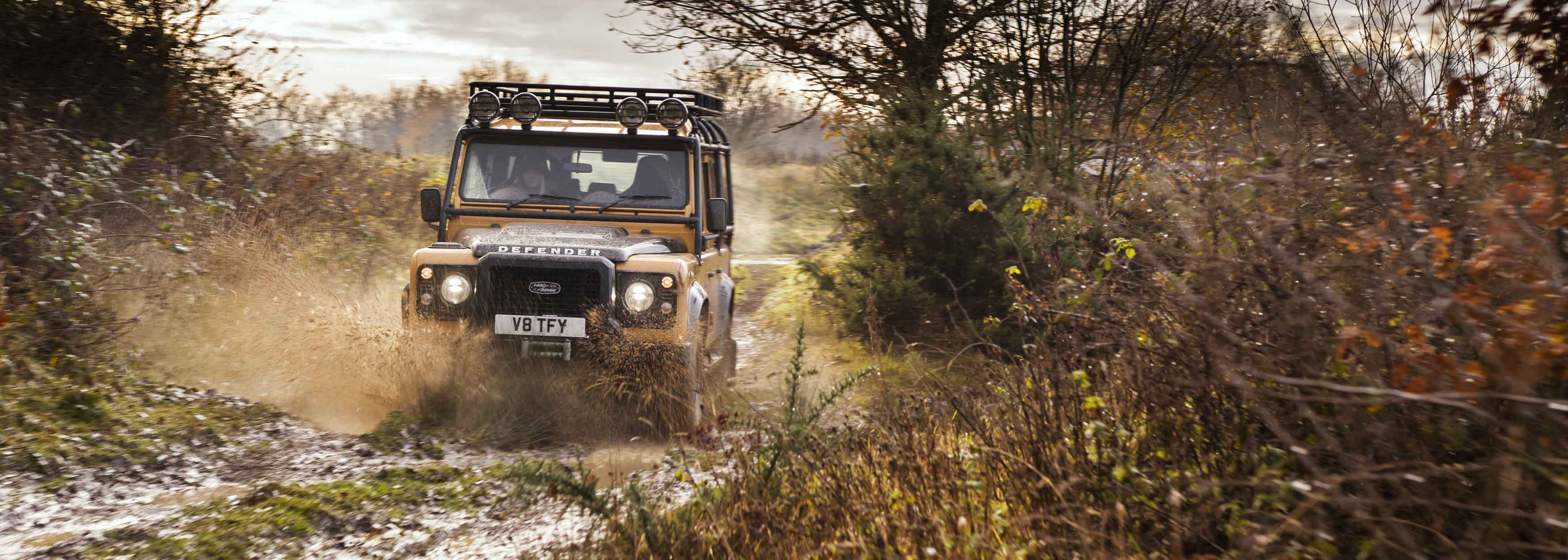 Land Rover launches Defender Works V8
