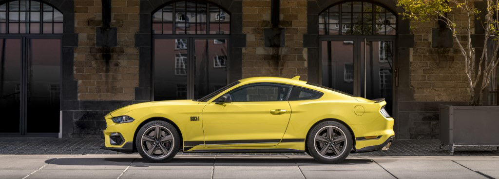 Ford Mustang handed Mach 1 treatment
