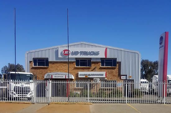 Magnis UD Trucks Bloemfontein