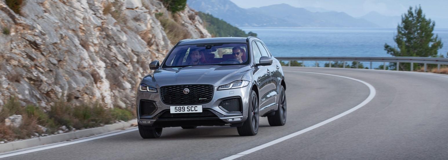 Jaguar F-Pace receives update