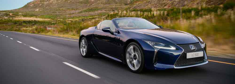 Lexus LC 500 convertible arrives in time for spring