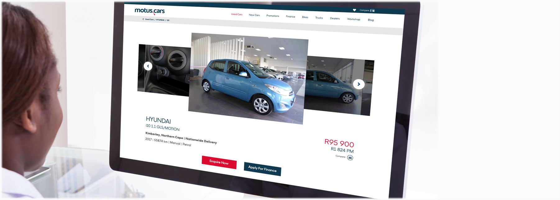 Buy your next car online with motus.cars
