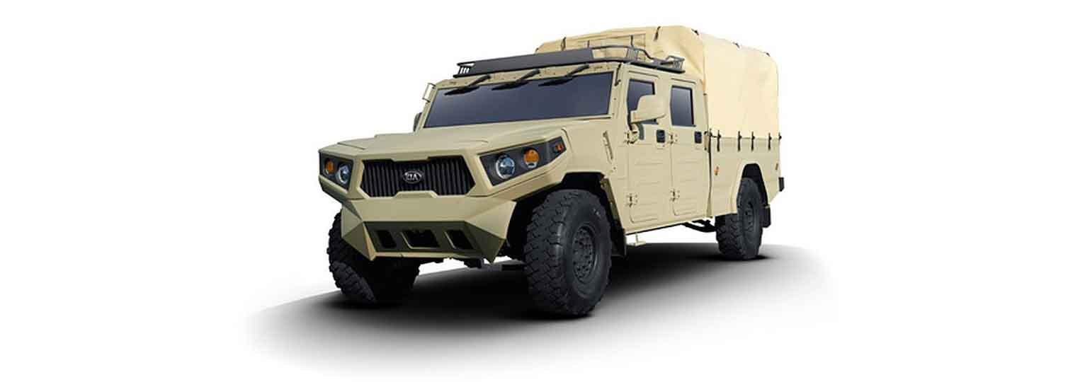 Kia showcases defence solutions