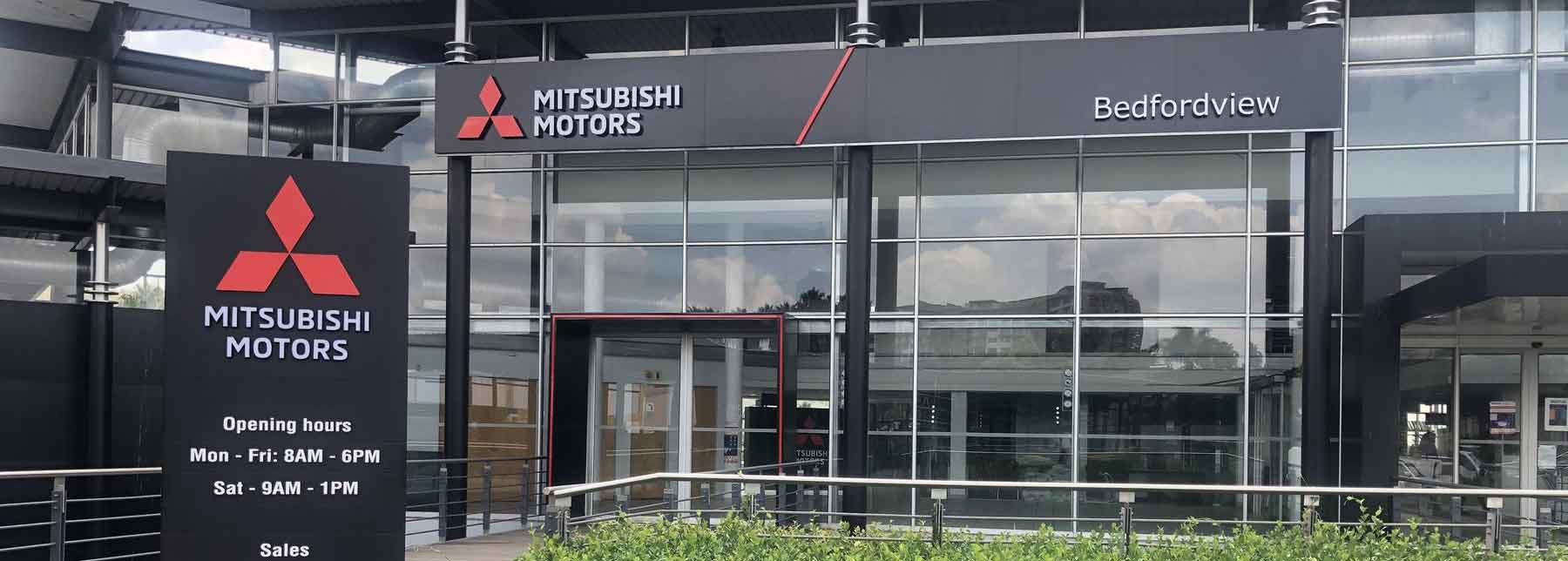 New corporate and visual identity for all Mitsubishi dealerships
