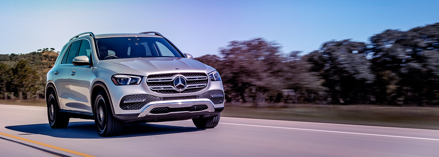 Arrive in style in the new Mercedes-Benz GLE