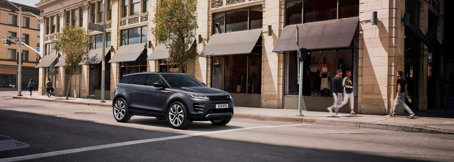 Evoque and Discovery Sport receive upgrades