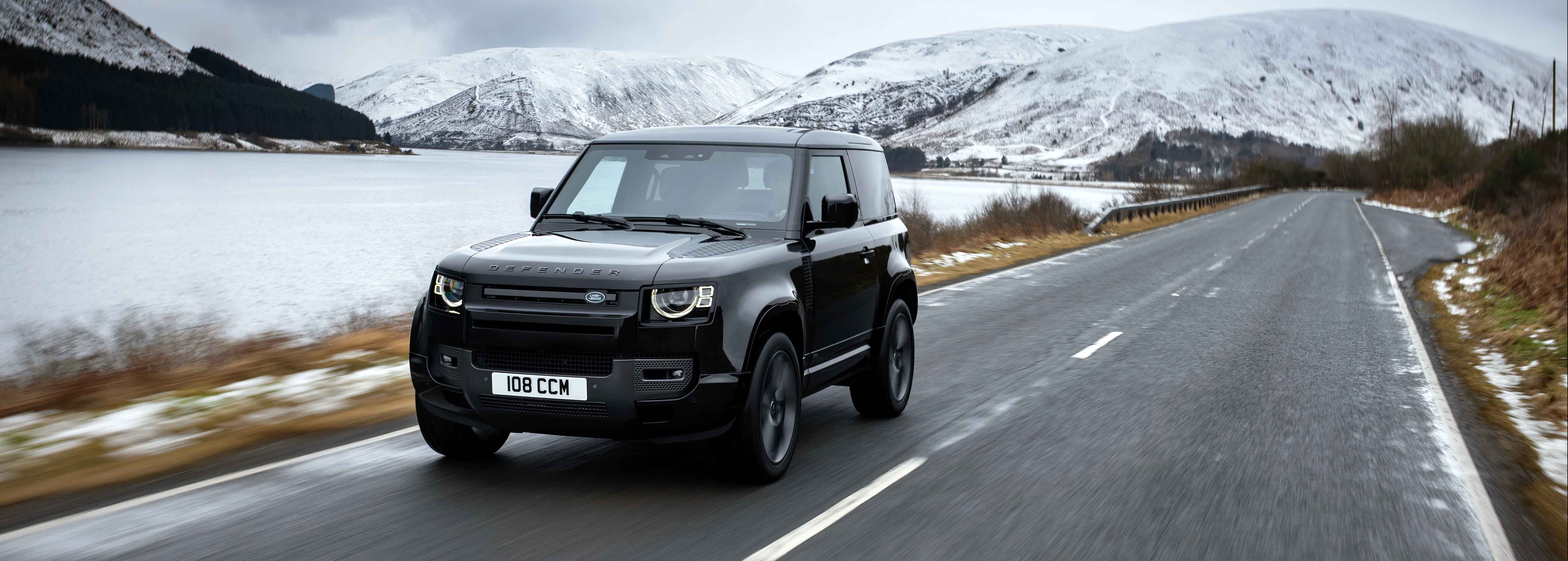 Land Rover launches powerful V8 Defender