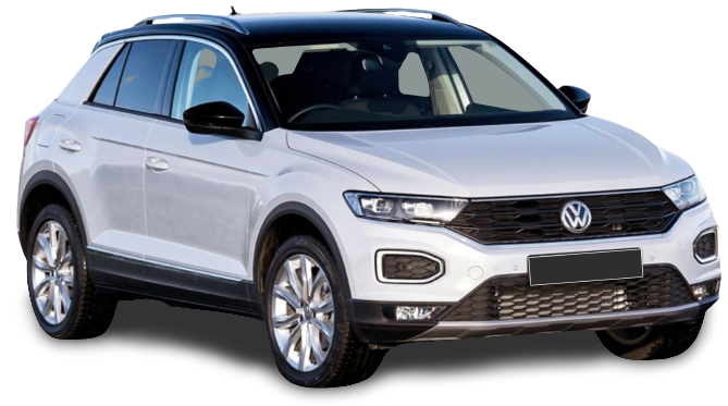 The All New VW T-Roc is now available on our dealership floors banner