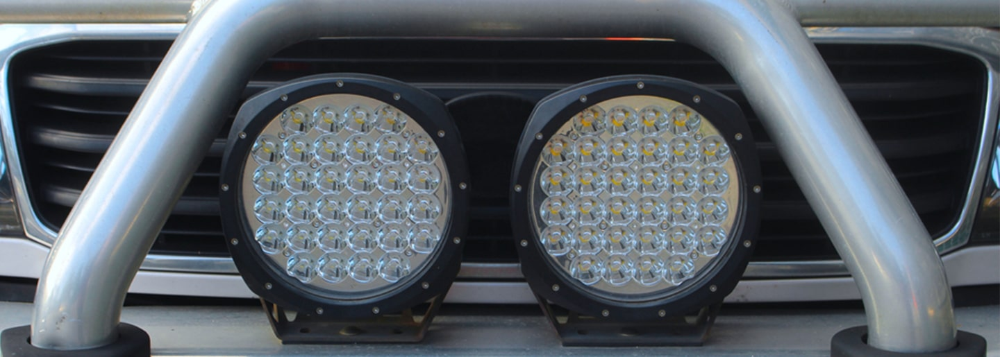 Vehicle spotlights and the law