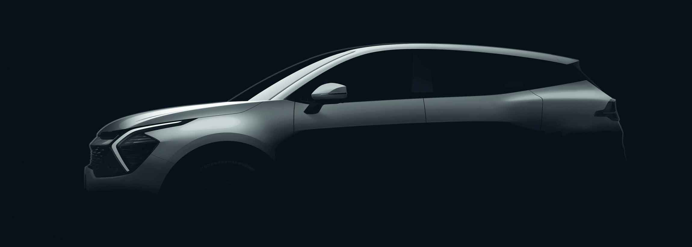 Kia Sportage fifth-generation teaser images revealed