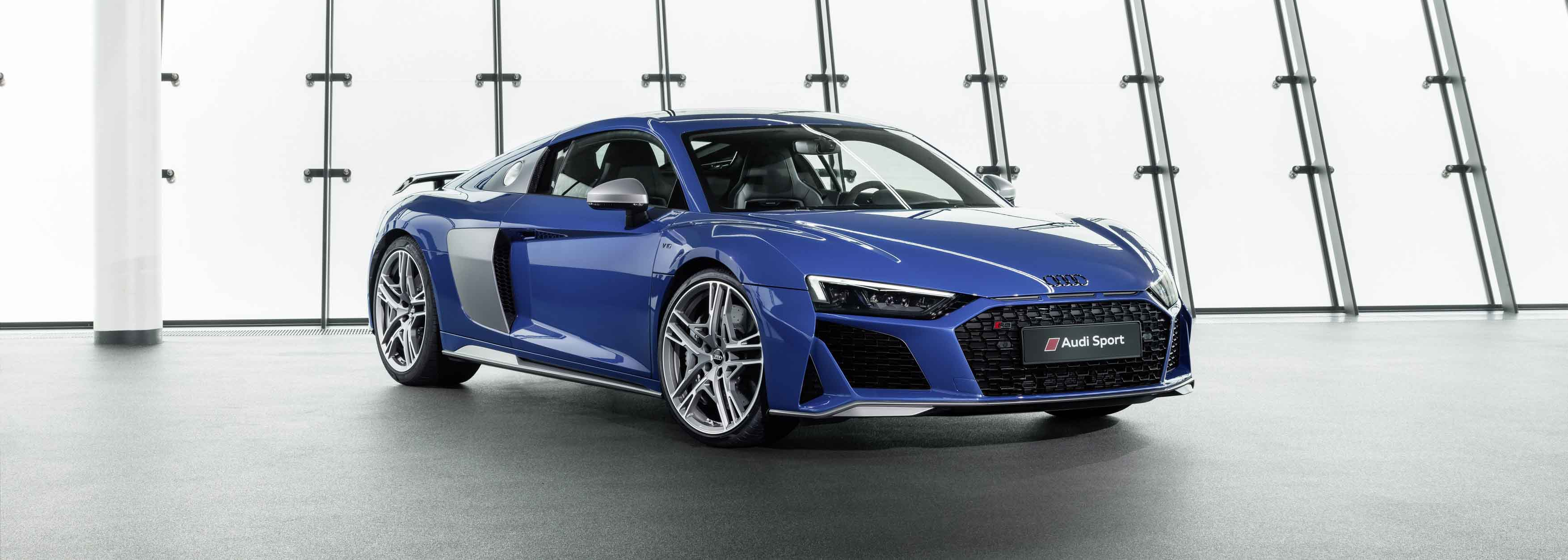 Audi R8 receives design and technology updates for 2021