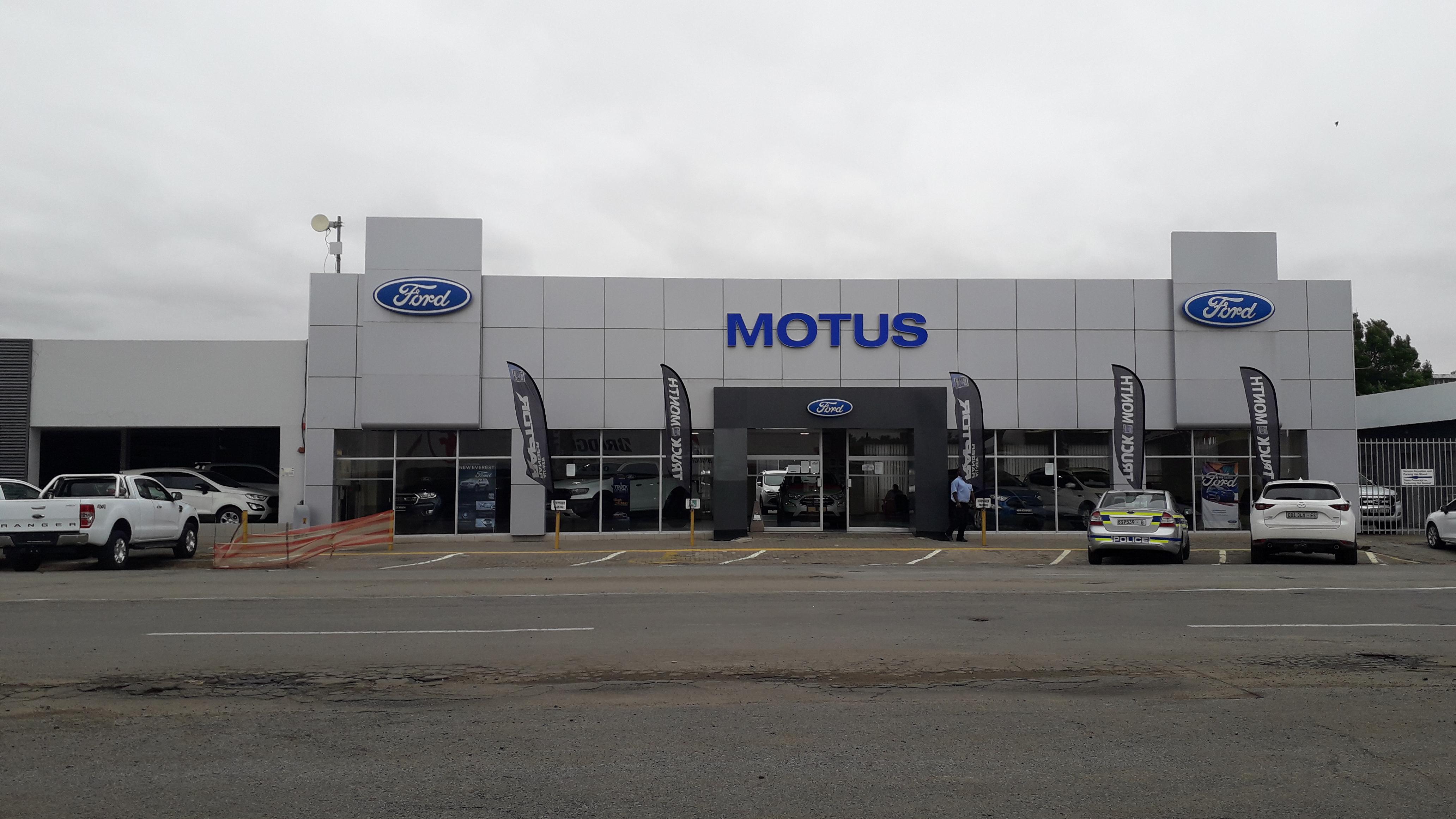 Motus Ford Kroonstad dealer image0