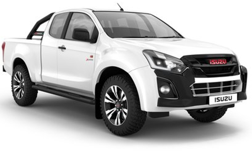 Isuzu D-MAX 250 X-Rider Extended Cab AT Free rubberising and towbar banner