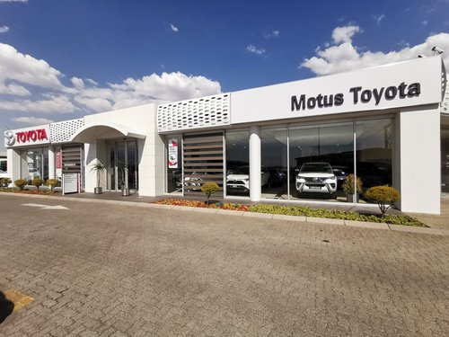 Motus Toyota Bedfordview dealer image0