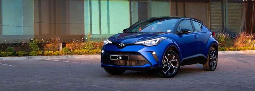 Toyota C-HR upgraded