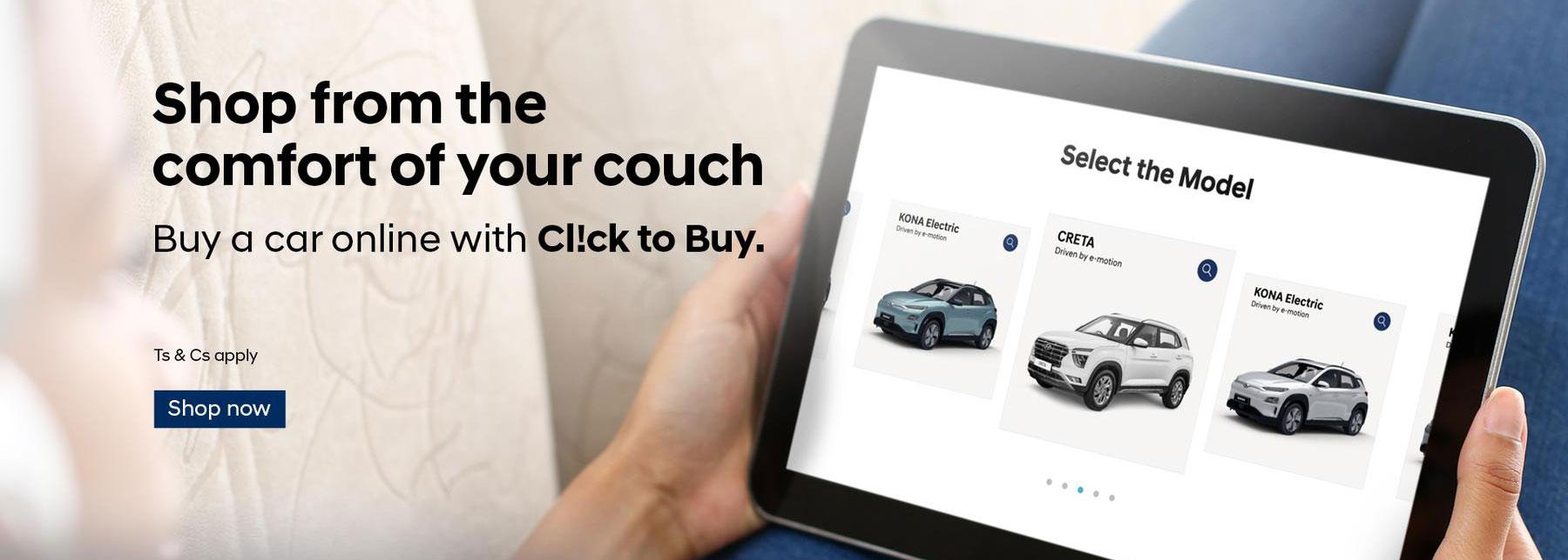 Buy your next Hyundai online