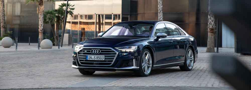 Audi S8 with added luxury and tech