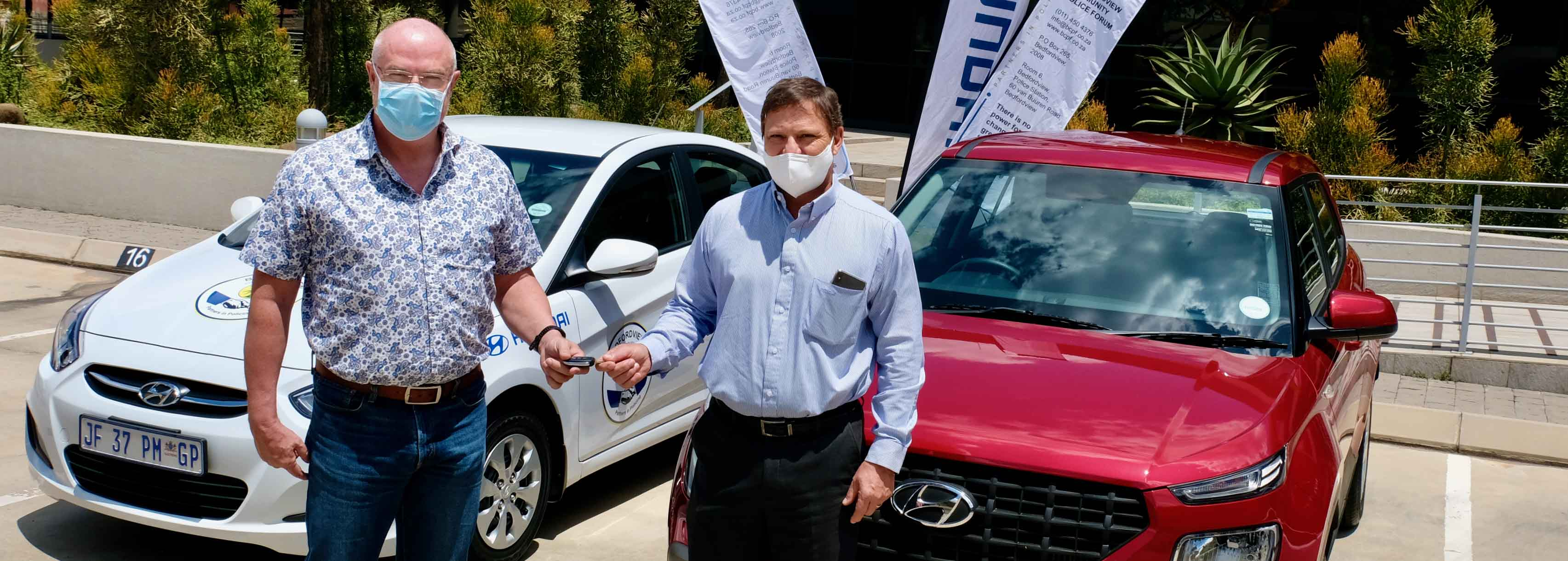 Hyundai donates vehicles