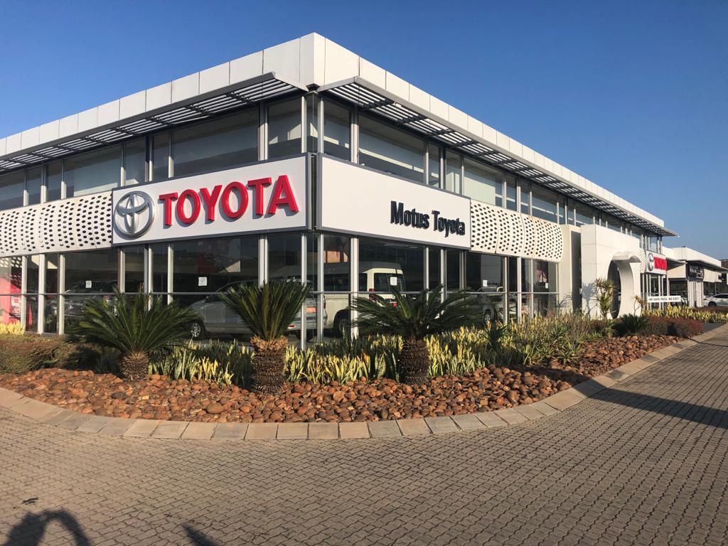 Motus Toyota Mbombela dealer image0