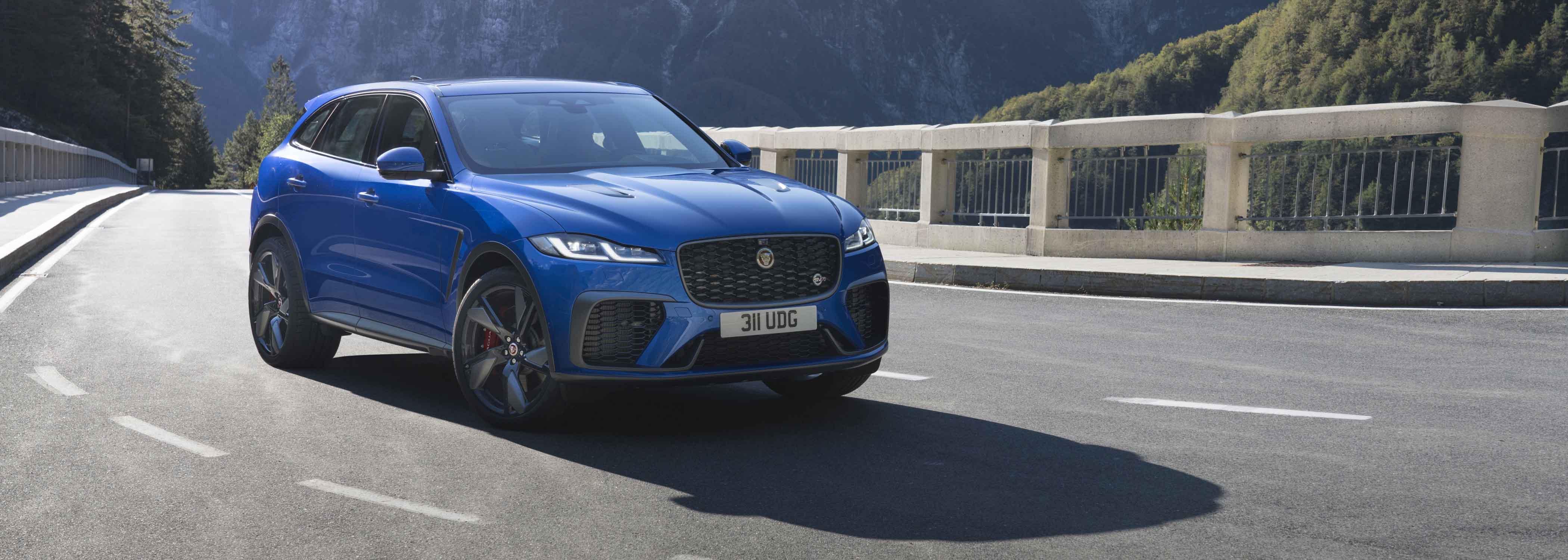 Jaguar F-Pace gets the SVR treatment
