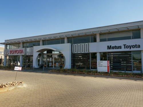 Motus Toyota Kempton Park dealer image0
