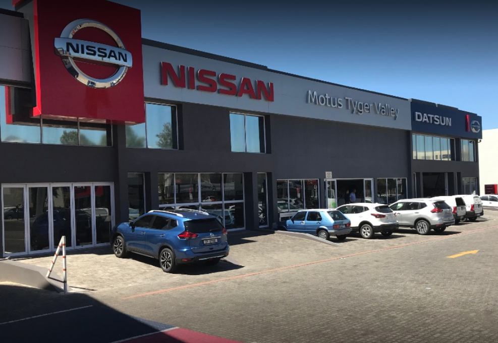 Motus Nissan Tygervalley dealer image0