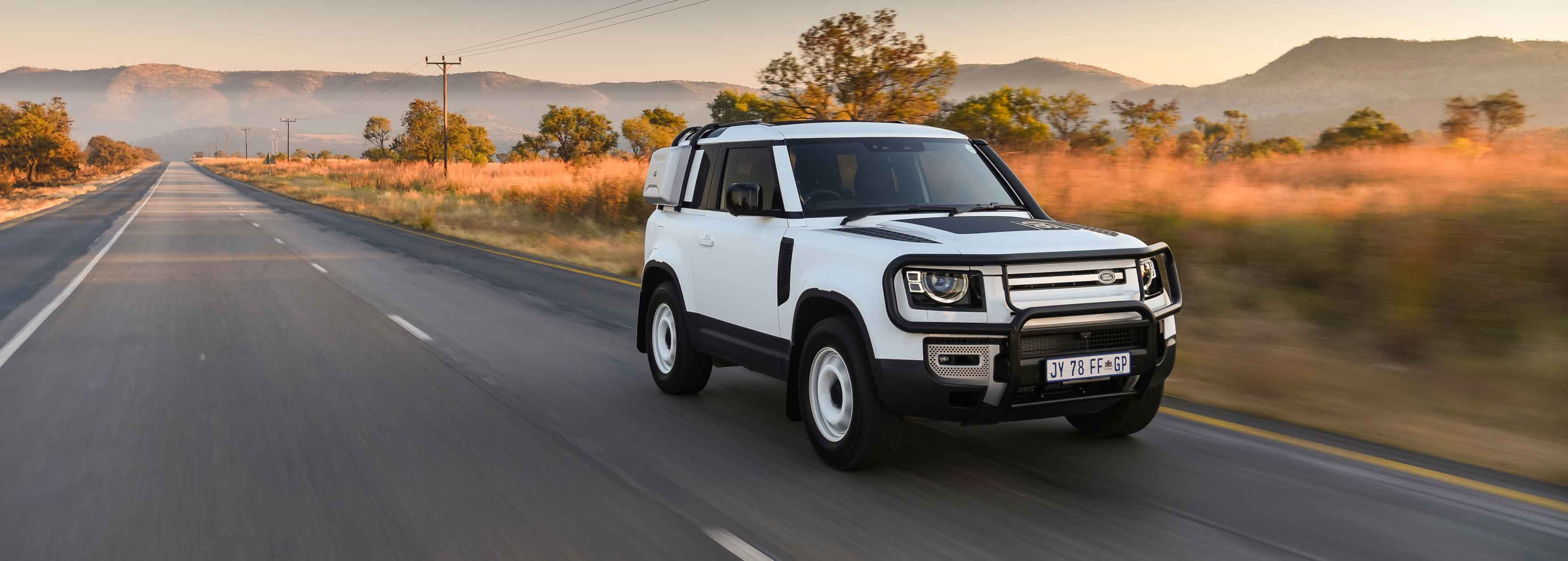 Land Rover Defender 90 ready for Africa