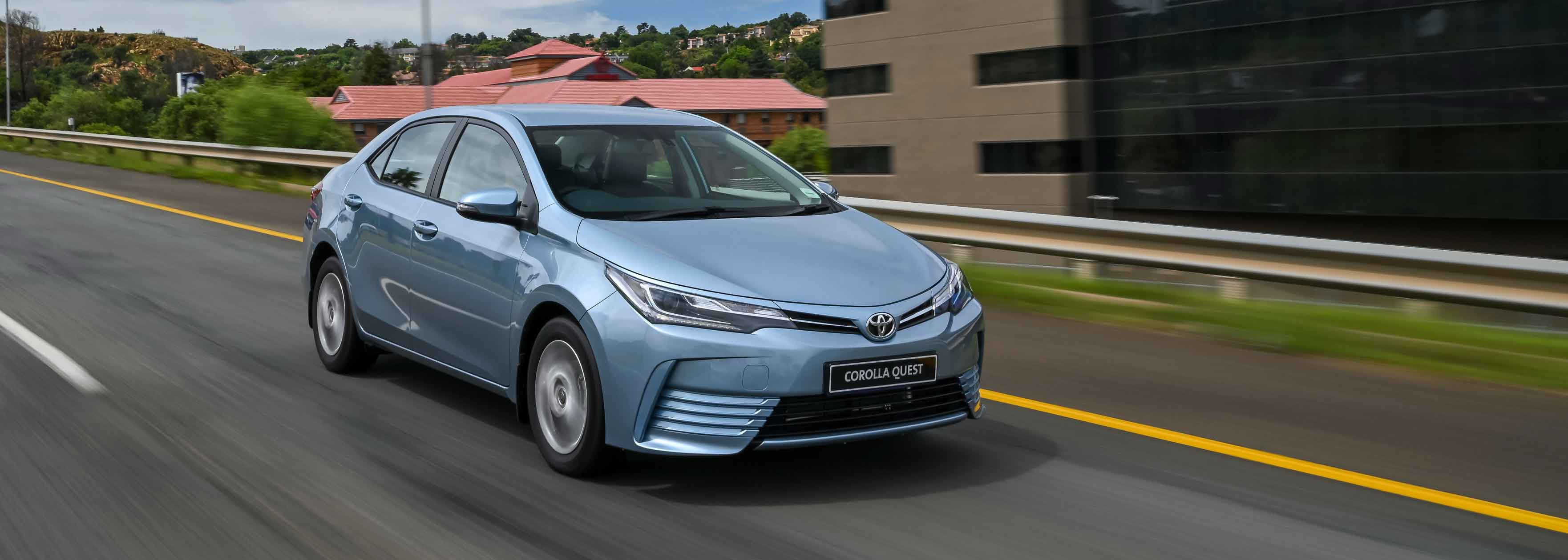 Toyota Corolla Quest now with added convenience features