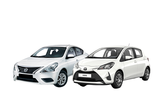 Up to R50 000 Deal Assistance on 2019 Toyota Yaris and 2019 Nissan Almera Get up to R50 000 deal assistance banner