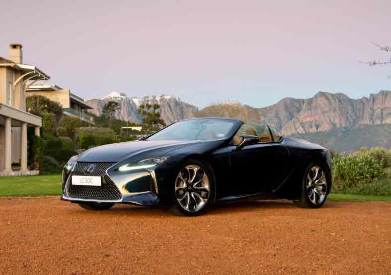 Lexus LC 500 convertible arrives in time for spring blog card image