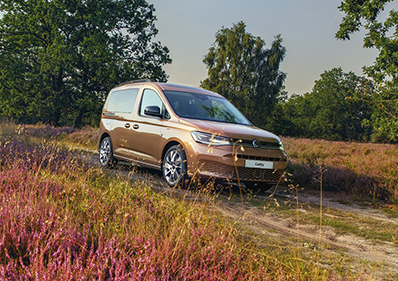 New Volkswagen Caddy to go on sale in November blog card image