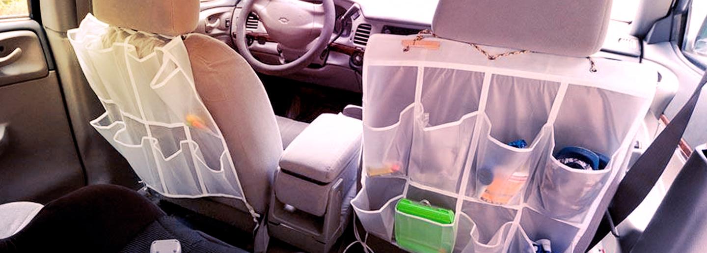 Car Hack: DIY Backseat Organiser