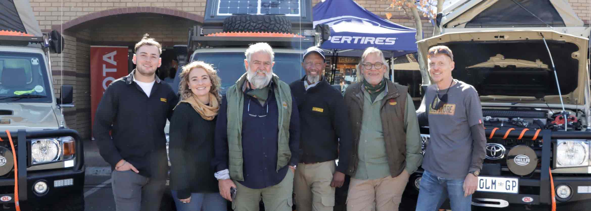 Voetspore team to rely on trio of Land Cruisers for 12000km journey
