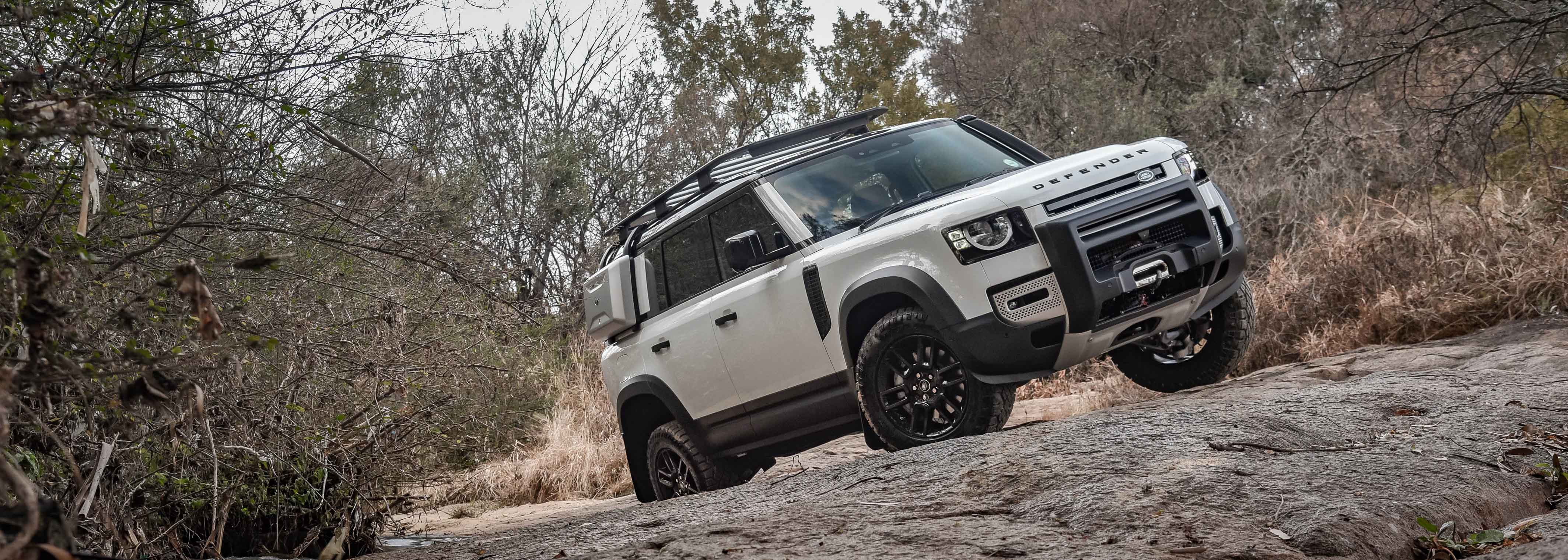 Experiencing the Land Rover Defender